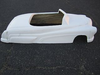 1951 Mercury pedal car hot rod stroller 1/4 scale fiberglass body rat