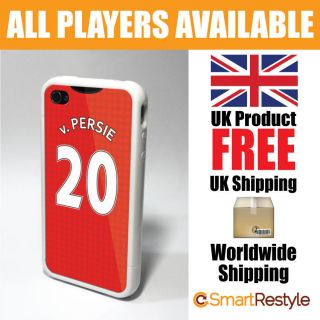 Manchester United Man Utd Shirt Style Phone Cover Case iPhone 4/4s Van