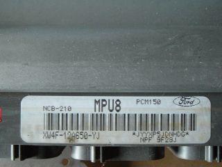 00 lincoln ls engine computer ecm ecu pcm module fits
