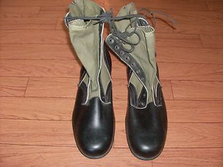 military vietnam era jungle boots dated 3 68