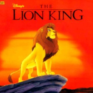 Disneys the Lion King by Margo Hover 1994, Paperback