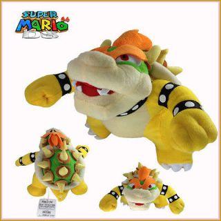 Super Mario Bros Plush King Bowser Koopa Soft Toy Stuffed Animal Doll