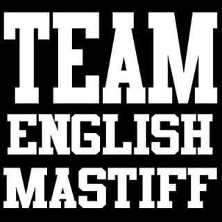team english mastiff t shirt cute puppy dog owner gift
