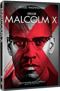 Malcolm X 1992 Denzel Washington DVD Biography Drama Movie Region 2