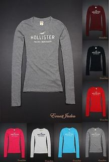 Hollister by Abercrombie womens Newport Peninsula Long Tee T Shirt NWT