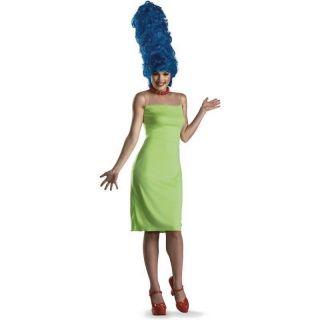 Marge Simpson Simpsons Costume Womens Dress Wig Costumes Medium (8 10)