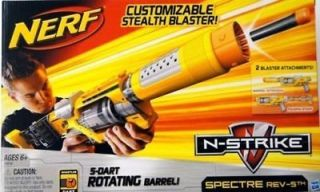 nerf n strike spectre rev 5 blaster rifle new time