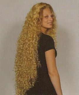 Blond Super Long Curly/Wavy Wig Black/Brown/Auburn Wigs
