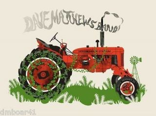 DAVE MATTHEWS BAND 6/29/2012 HERSHEY PA POSTER DMB TRACTOR FARM AID