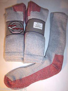 Pairs Mens Polar Xtreme 71% Merino Wool Cushioned Heavy Duty High