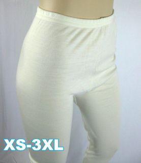 Lock Women Girl Long Johns Pure Merino Wool Thermal Underwear XS 3XL