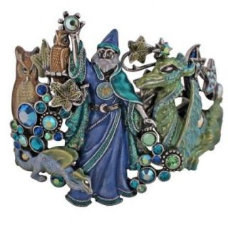 boxed kirks folly house merlin s magic wizard cuff bracelet