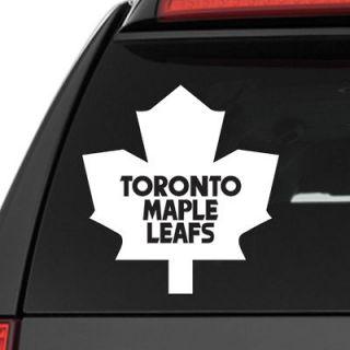 Toronto Maple Leafs NHL Hockey Vinyl Decal Sticker   4 Sizes Available