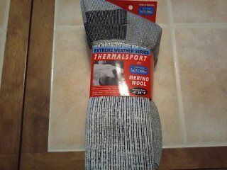 Keypers ThermalSPORT Merino Wool Socks  2 Pr  Xtra Cushn, Natural Heel