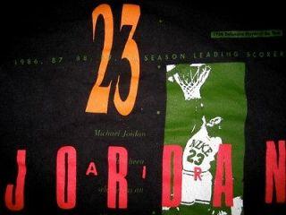 1991 nike air jordan basketball t shirt vintage 90s medium