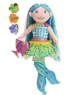 Girls Aqualina Mermaid 13 Soft Girl Doll Manhattan Toy 131510 New