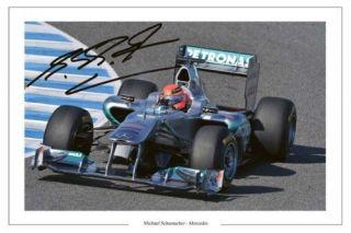 michael schumacher signed in Sports Mem, Cards & Fan Shop
