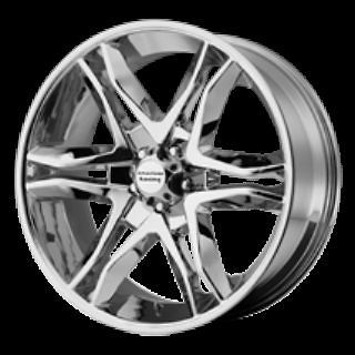 RIMS AMERICAN RACING MAINLINE CHROME CALIBER NITRO EDGE FLEX F 150
