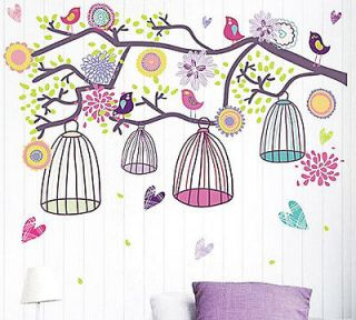 Newly listed Mediterranean Style Happy Color Birdcage&Flower Tree