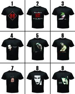 marilyn manson rock band black shirt assorted 9 design more