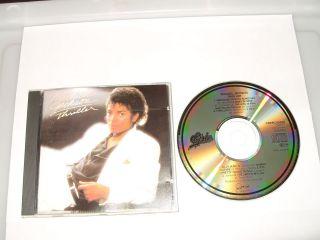 MICHAEL JACKSON   THRILLER   9 TRACK CD   1982 CBS   FASTPOST
