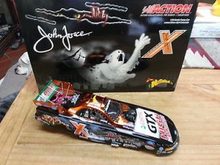 John Force 03 Castrol GTX HIGH MILEAGE/NORWALK NHRA diecast Funny Car