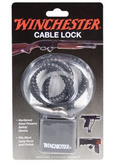 Winchester 15 Hardened Steel Cable Lock Gun Security Trigger Air