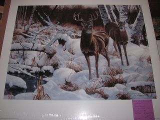 WI 2003 Wisconsin Ducks Unlimited Sponsor Print Signed 2003WI0