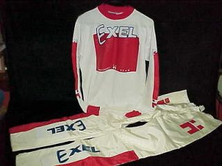 NOS Old School HUTCH EXEL JERSEY & PANTS National Factory Team Trick