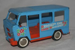 1960 s buddy l raggedy ann andy parts camper time
