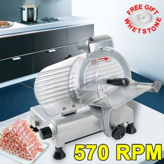commercial 8 blade electric meat slicer 210w 570rpm deli food