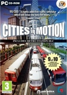 CITIES IN MOTION   TRAFFIC SIMULATOR GAME   NEW WINDOWS 7, XP, VISTA