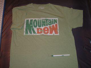 Mountain Dew Medium Tshirt yahoo diet soda pop beverage mtn soft drink