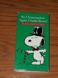 Again Charlie Brown VHS Video Peanuts Classics Collection