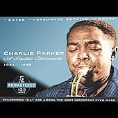 1948 Box by Charlie Sax Parker CD, Sep 2003, 5 Discs, JSP UK