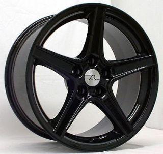 Black Mustang ® Saleen Wheels 18x9 & 18x10 inch 1994 1995 1996 1997