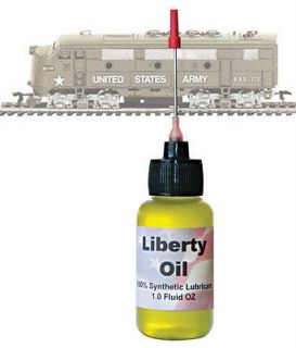 The BEST 100% Synthetic Oil For Lubricating HO Scale AHM/Rivarossi