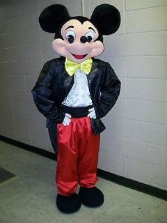 New Mickey mouse Adult mascot costume/Low price only for this time