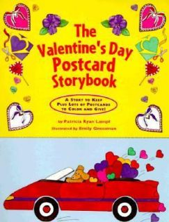 Valentines Day Postcard Storybook by Patricia Ryan Lampl 1997