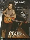 JANES ADDICTION DAVE NAVARRO PRS SINGLECUT TREM GUITARS AD 8X11