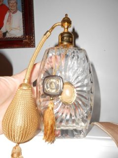 VICTORIAS SECRET VINTAGE GORGEOUS TALL PERFUME BOTTLE   REALLY PRETTY
