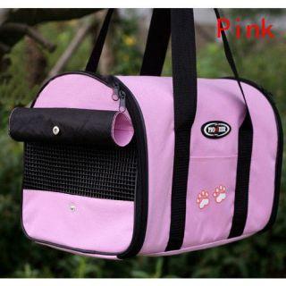 color pet carrier dog cat tote travel carry bag