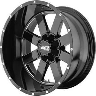 20x12 black wheel moto metal mo962 8x6 5 time left