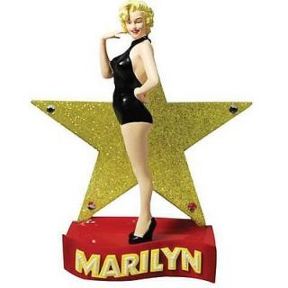 Marilyn Monroe Gold Star Statue Westland Giftware, 7 tall New in