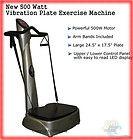 Full Body Power Vibe Vibration Power Plate Exercise Mac