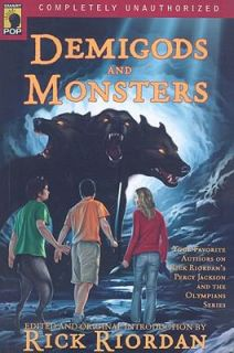 Demigods and Monsters Your Favorite Authors on Rick Riordans Percy