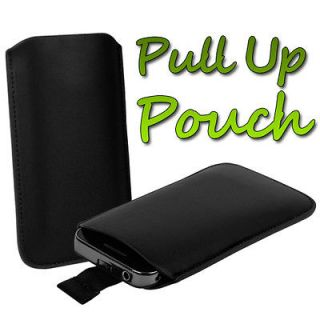 PULL UP SLEEVE CASE COVER POUCH FOR NOKIA ASHA 300 MOBILE PHONE
