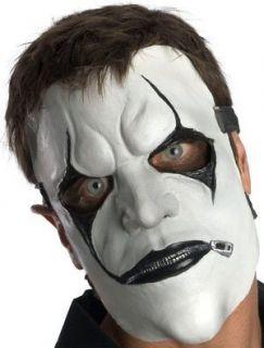 JAMES ROOT MASK JIM BLACK WHITE Hope Gone Costume Metal LICENSED NEW
