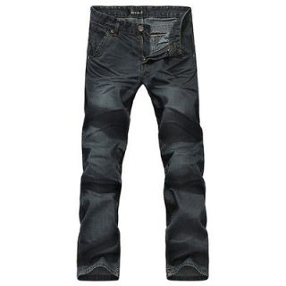 Fashion Mens Jeans Designer COOL style Classic Straight Fit IN 8SIZE