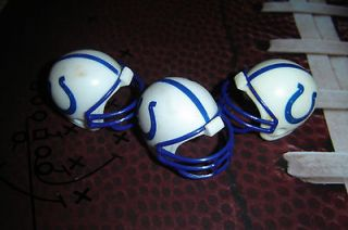 Lot of 3 Indianapolis Colts Brand NEW NFL Mini Plastic Football